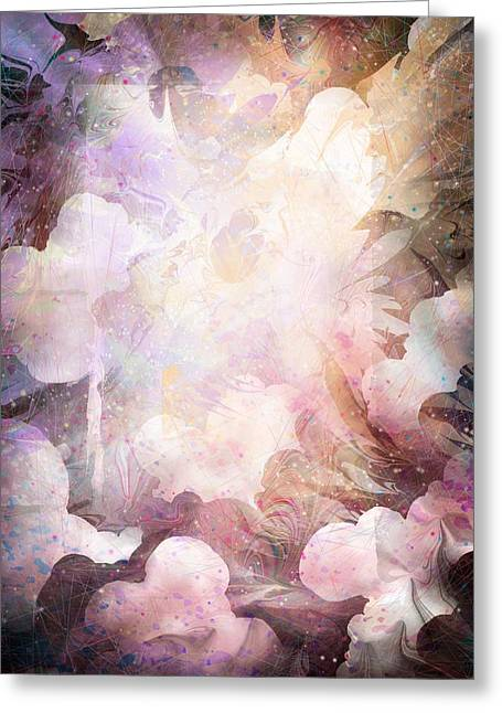 Will Power Digital Art Greeting Cards - Gabriel Greeting Card by Rachel Christine Nowicki