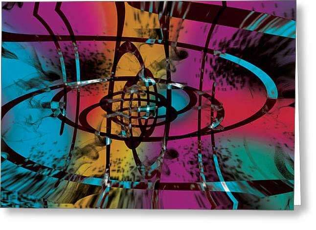 Levi Greeting Cards - Galaxia Greeting Card by Levi Sullivan