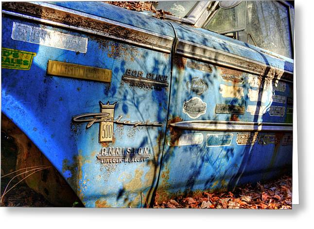 Yard Sale Greeting Cards - Galaxie 500 Greeting Card by Greg Mimbs