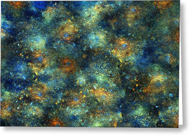 Continuum Greeting Cards - Galaxies  Greeting Card by Betsy C  Knapp