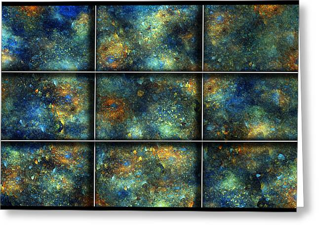 Continuum Greeting Cards - Galaxies II Greeting Card by Betsy C  Knapp