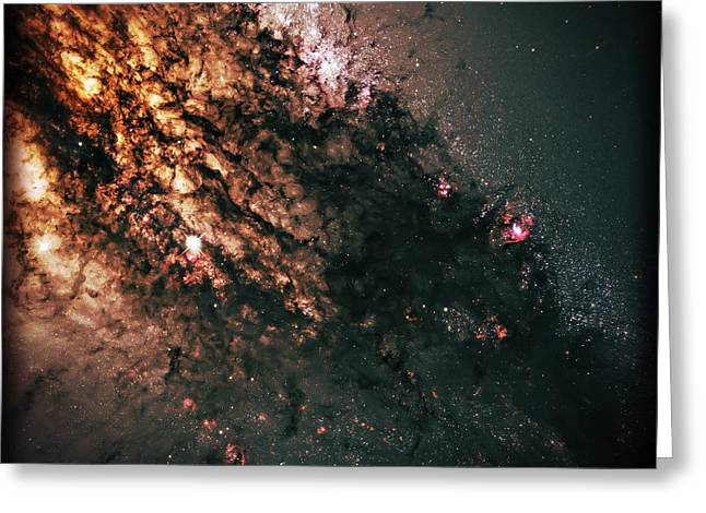 Science Fiction Art Greeting Cards - Galaxy Centaurus A Greeting Card by The  Vault - Jennifer Rondinelli Reilly