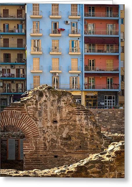Neely Greeting Cards - Galerius Palace Thessaloniki Greeting Card by Brian Neely