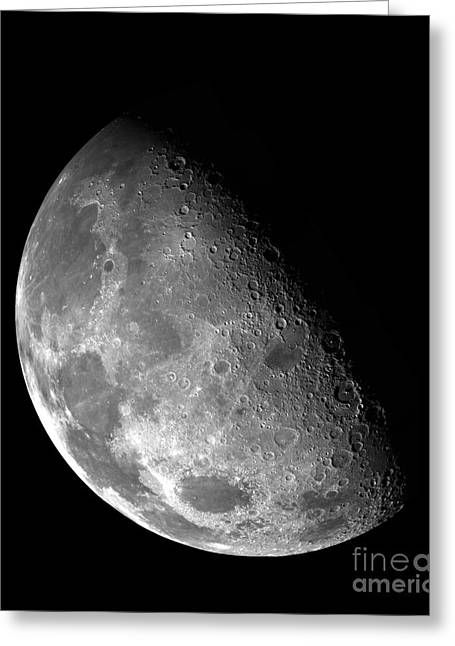 Mare Serenitatis Greeting Cards - Galileo Images the Moon Greeting Card by Andrew Wilson