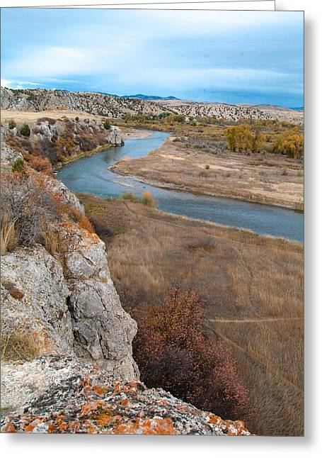 West Fork Greeting Cards - Gallatin River Three Forks Montana Greeting Card by Charles Johnson