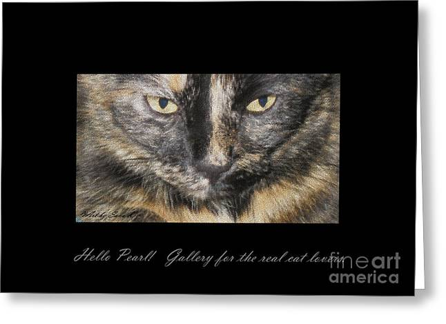 Nice Greeting Cards - Gallery for the real cat lovers Greeting Card by Oksana Semenchenko