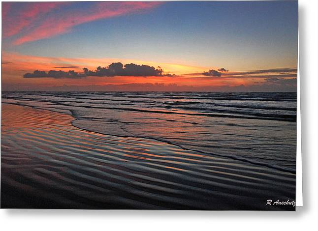 Galveston Greeting Cards - Galveston Reflections Greeting Card by Robert Anschutz