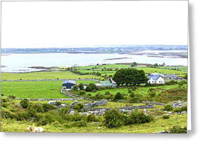 Roadway Greeting Cards - Irish Countryside Greeting Card by Charlie and Norma Brock