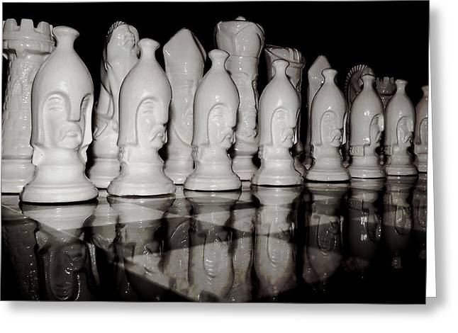Chess Rook Greeting Cards - Game of Strategy Greeting Card by Mountain Dreams