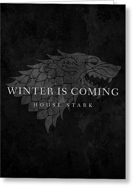 Mike Taylor Greeting Cards - Game Of Thrones Greeting Card by Mike Taylor