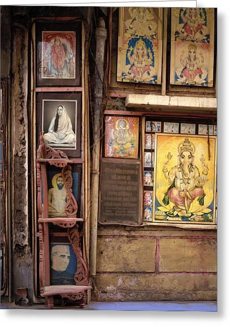 Urban Guru Greeting Cards - The Icons Of India Greeting Card by Shaun Higson