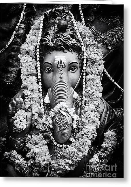 Ganapati Greeting Cards - Ganesha Altar  Greeting Card by Tim Gainey