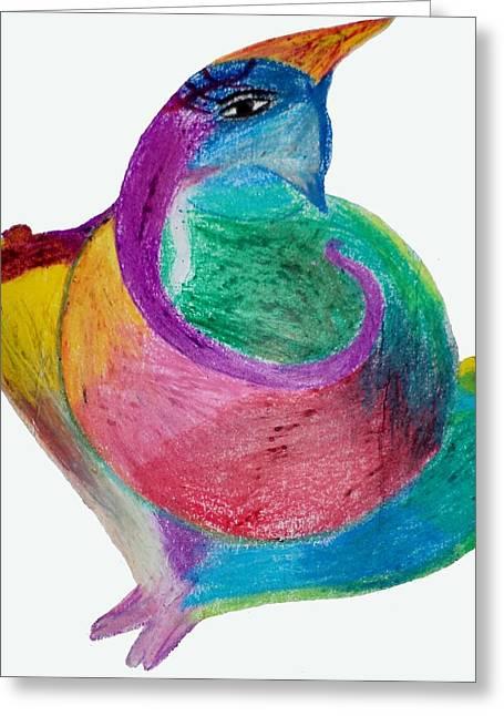 Spirituality Pastels Greeting Cards - Ganesha Greeting Card by Pratyasha Nithin