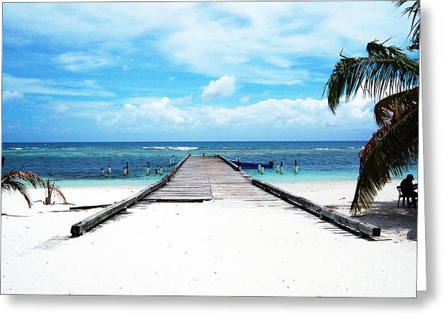 Inverse Greeting Cards - Gangplank of Perfection Greeting Card by Heather Kirk
