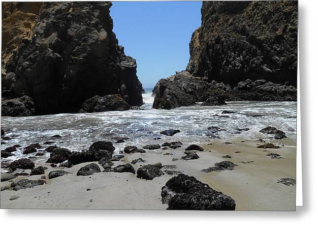 Big Sur Greeting Cards - Gap Greeting Card by Brett Chambers