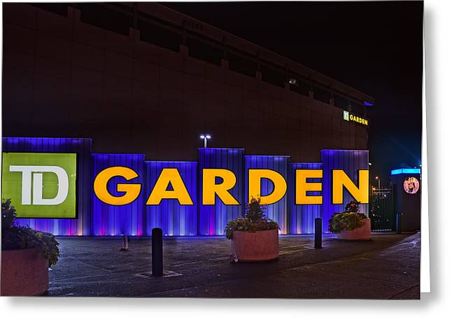Td Bank Garden Greeting Cards - Garden 02 Greeting Card by Jeff Stallard