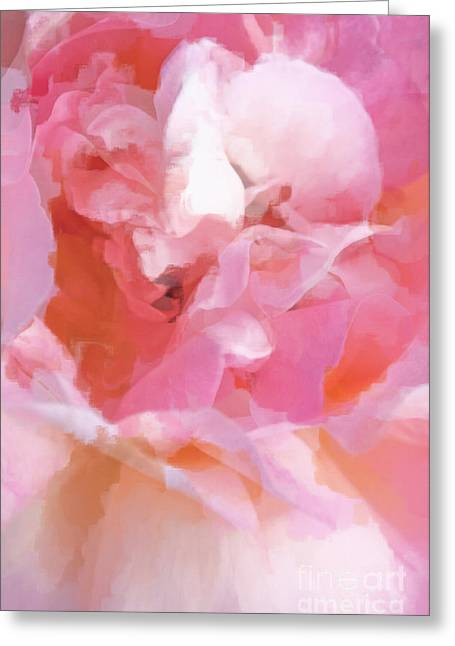 Dance Ballet Roses Greeting Cards - Garden Ballet Greeting Card by Gwyn Newcombe
