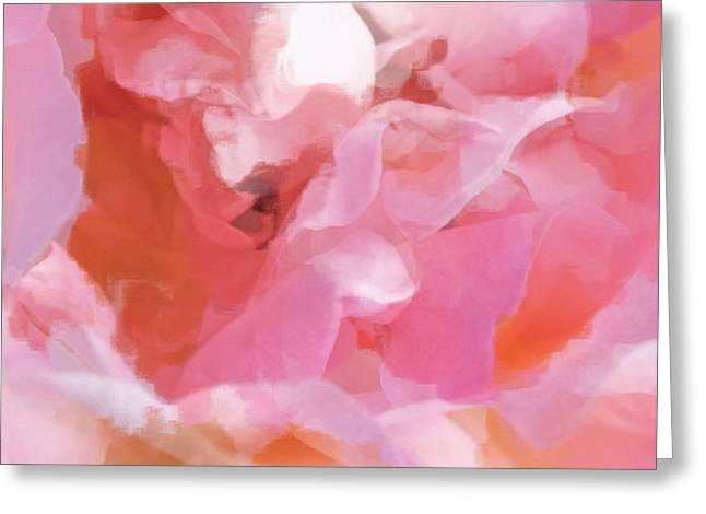 Garden Ballet Greeting Card by Gwyn Newcombe