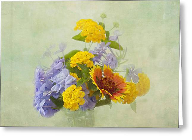 Kim Photographs Greeting Cards - Garden Bouquet Greeting Card by Kim Hojnacki