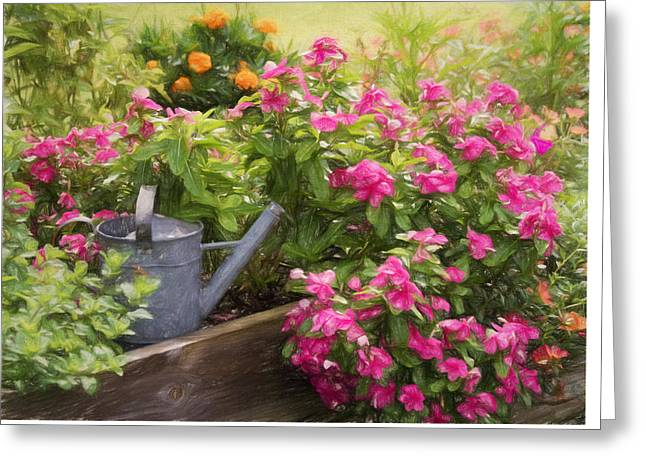 Kim Photographs Greeting Cards - Garden Delight Greeting Card by Kim Hojnacki