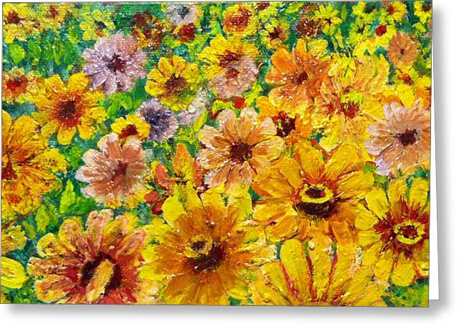 Don Thibodeaux Greeting Cards - Garden Flowers Greeting Card by Don Thibodeaux