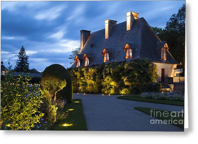 Stewards Greeting Cards - Garden House Greeting Card by Brian Jannsen