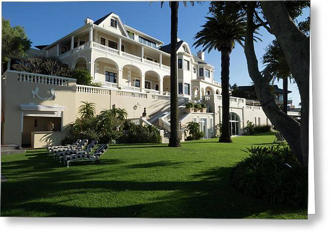 Garden Of Ellerman House, Bantry Bay Greeting Card by Panoramic Images