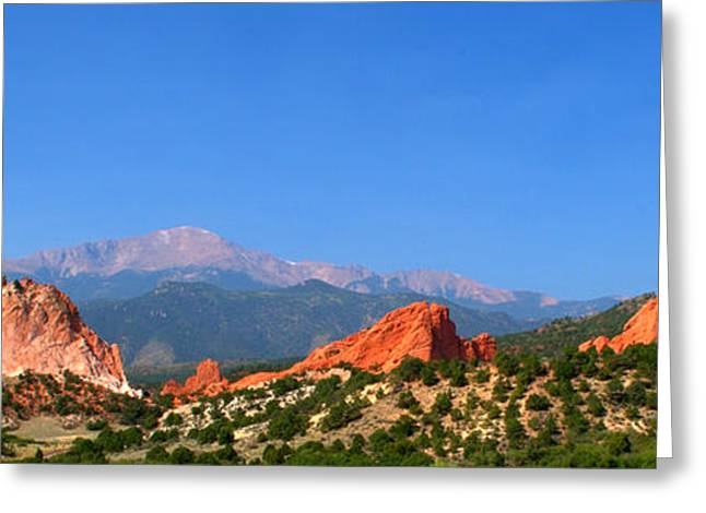 Garden Of The Gods Greeting Cards - Garden Of The Gods Greeting Card by Brian Harig