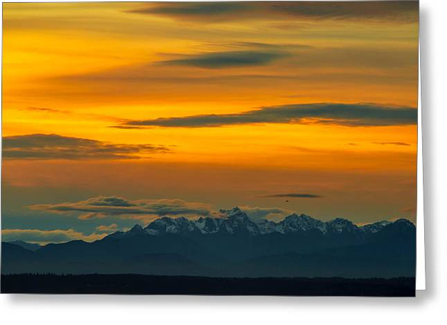 Olympic Mountains Greeting Cards - Garden of the Gods Greeting Card by Ryan McGinnis
