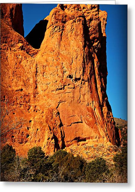 Garden Of The Gods -- Tower Of Babel Greeting Card by Stephen Stookey