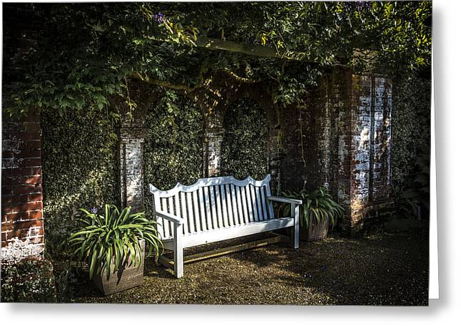 Ivy Corners Greeting Cards - Garden Retreat Greeting Card by Andy Mayes