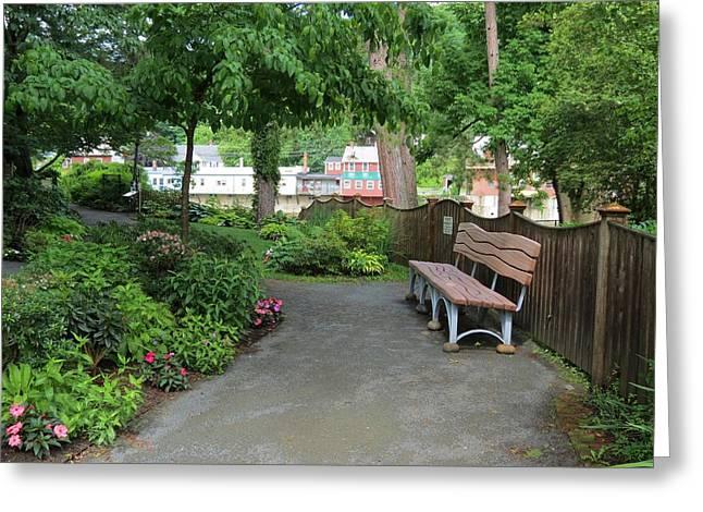 Garden Retreat Greeting Card by MTBobbins Photography