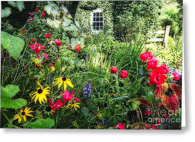 Historic Site Greeting Cards - Garden State Dream Garden Greeting Card by George Oze