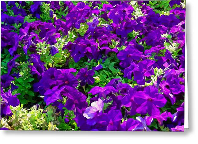 Garden Scene Digital Greeting Cards - Garden Stream Greeting Card by Glenn McCarthy Art and Photography