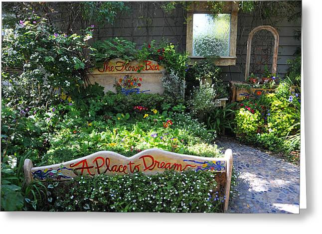 Cambria Greeting Cards - Gardeners Dream Greeting Card by Lynn Bauer