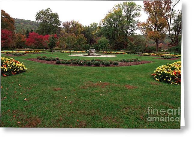 Garden State Greeting Cards - Gardens at the Botanical Garden Greeting Card by John Rizzuto
