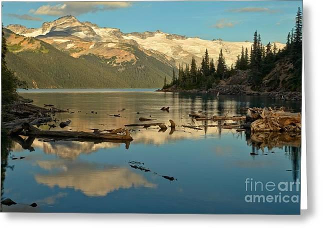 Candian Greeting Cards - Garibaldi Alpine Lake Greeting Card by Adam Jewell