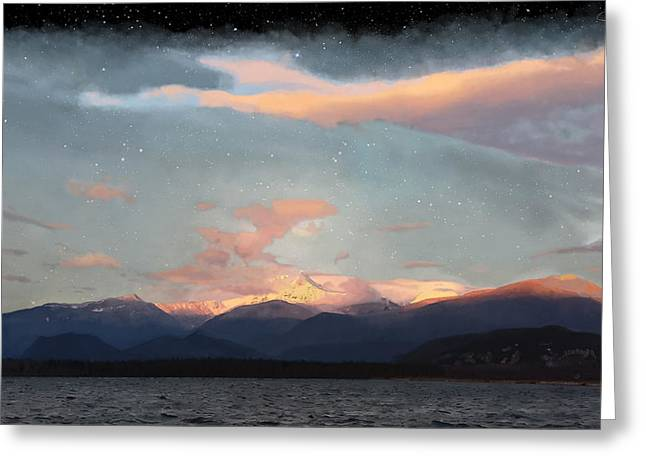 Recently Sold -  - Tablets Greeting Cards - Garibaldi Mountain Greeting Card by Chase Rennie