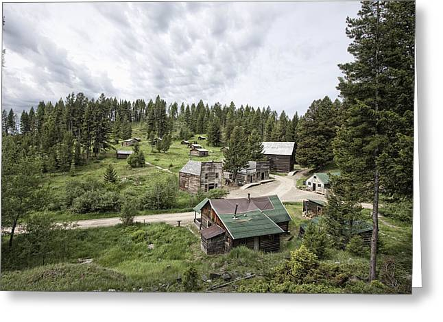 Garnet Greeting Cards - Garnet Ghost Town - Montana Greeting Card by Daniel Hagerman