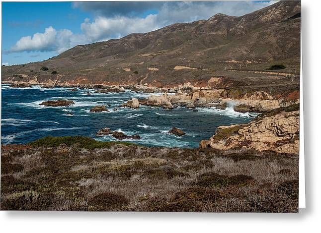 Big Sur California Greeting Cards - Garrapata Coast Greeting Card by George Buxbaum