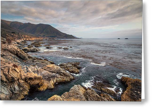 Big Sur Beach Greeting Cards - Garrapata State Beach  Greeting Card by Ken Wolter