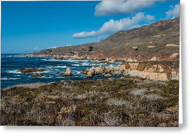 Big Sur Greeting Cards - Garrapata State Park Greeting Card by George Buxbaum