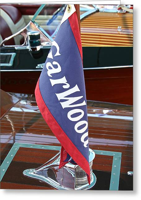 Garwood Burgee Greeting Card by Steven Lapkin