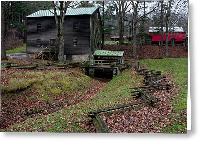 Grist Mill Greeting Cards - Gaston Mill Greeting Card by Claus Siebenhaar