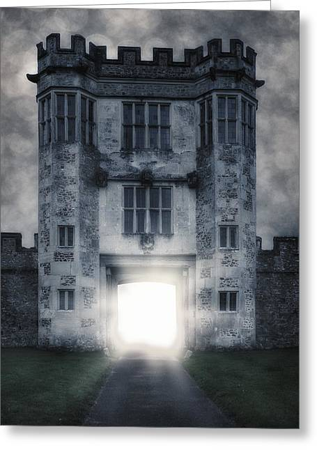 Castle Gates Greeting Cards - Gate Greeting Card by Joana Kruse