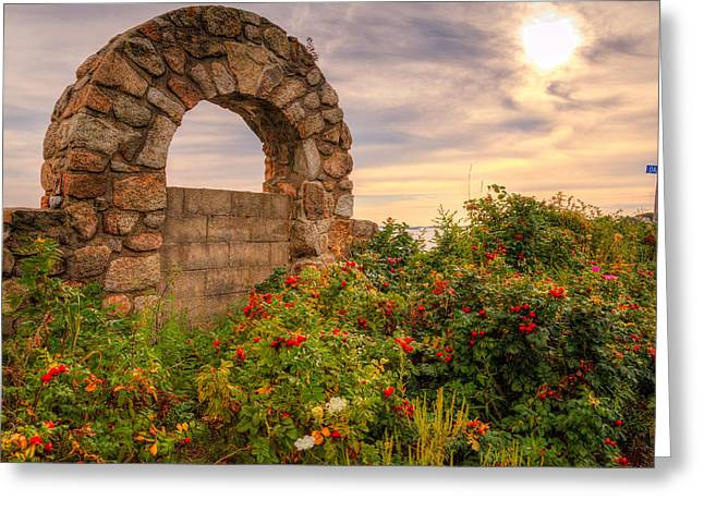 Gate To Nowhere  Greeting Card by Eti Reid
