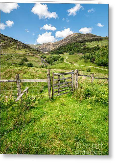 Stone Bridge Greeting Cards - Gate To Paradise Greeting Card by Adrian Evans
