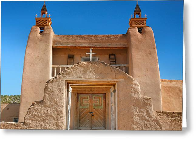 Christian Note Cards Greeting Cards - Gate To San Jose de Gracia II Greeting Card by Steven Ainsworth