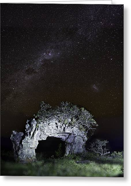 Serrania Greeting Cards - Gate to the southern cross Greeting Card by Dirk Ercken