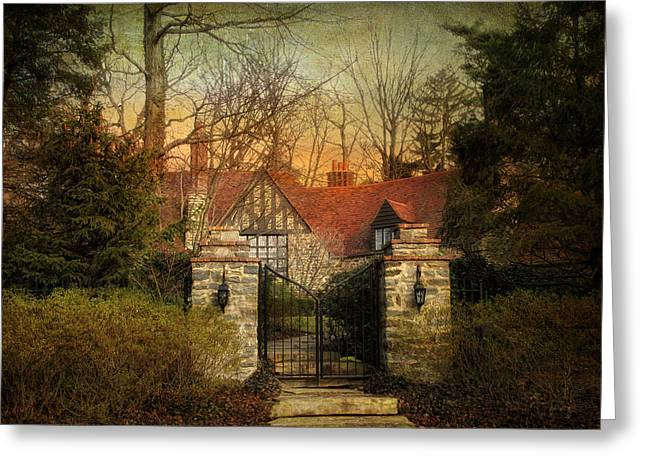 Gated Greeting Card by Jessica Jenney